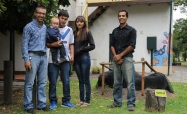 Reconocimiento a jóvenes por el rescate del Gliptodonte