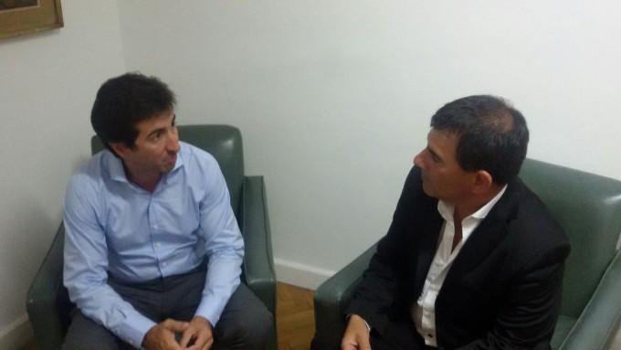 El Intendente Bertellys gestionó diferentes proyectos e iniciativas para Azul