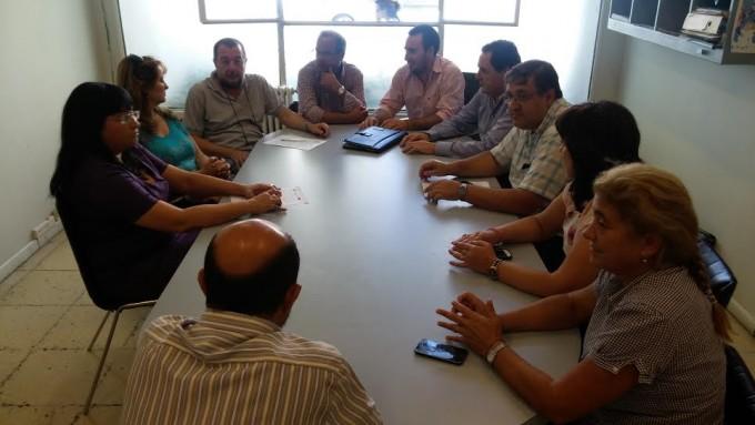 Concejales del FPV con el Senador Héctor Vitale por incremento de hechos delictivos