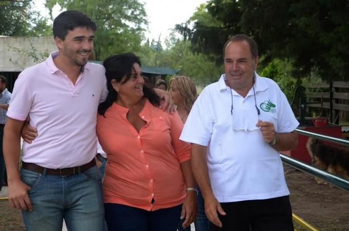 El Intendente Ezequiel Galli visitó el Centro de Hipoterapia de Olavarría.