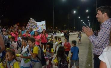Con el corso infantil, dieron comienzo las 5 noches de carnavales en Olavarría