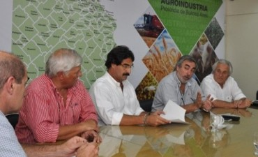 Sarquís se reunió con intendentes de distintas zonas productivas