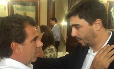 Seguridad: El Intendente Ezequiel Galli participó de un encuentro con el Ministro Cristian Ritondo