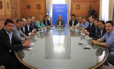 El intendente de Bolívar en reunión con el Ministro de Interior