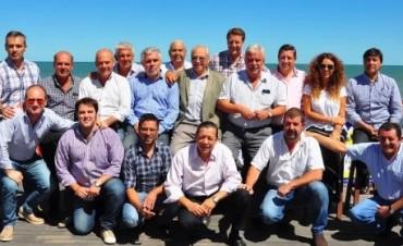 Reunión de intendentes peronistas de la sexta sección