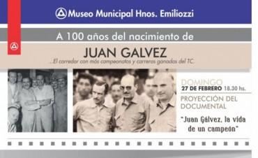 Homenaje a Juan Gálvez