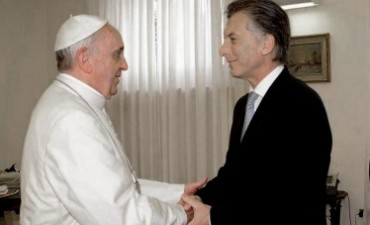El Papa recibió a Macri