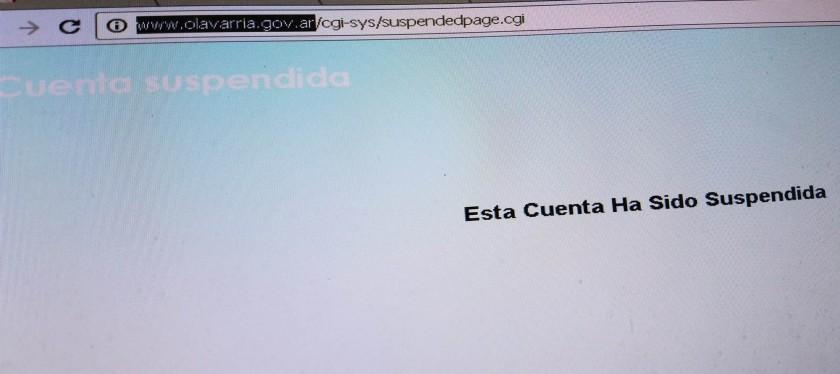 Por gran cantidad de ingresos, cayó unas horas la web de Municipalidad