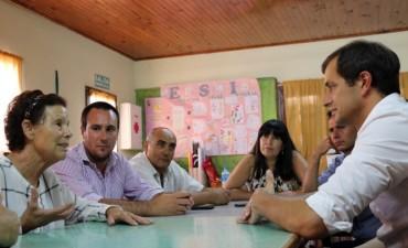 Mientras recorre la Provincia, Bucca quiere impulsar una propuesta 'confiable' dentro del PJ