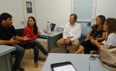 Omar Duclós se reunió con los 'convergentes'