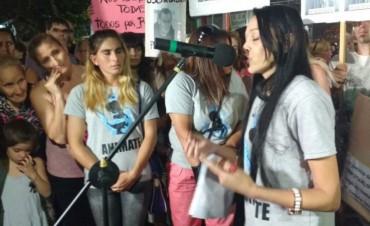 """Importante convocatoria en la marcha de """"Animate"""": pidieron justicia contra los abusos sexuales"""