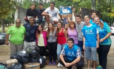 Las donaciones para los vecinos de La Emilia llegaron a destino