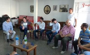 El Radicalismo de Olavarría se reunió con referentes del Ministerio de Agroindustria de Nación