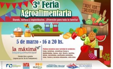 Abierta la inscripción para participar de la 3ª Feria Agroalimentaria