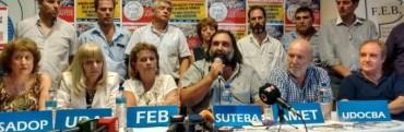 Los gremios docentes críticos con la propuesta de Vidal