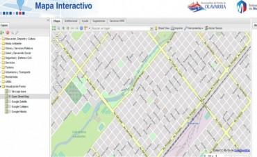 Mapa interactivo: un paso más hacia un gobierno abierto