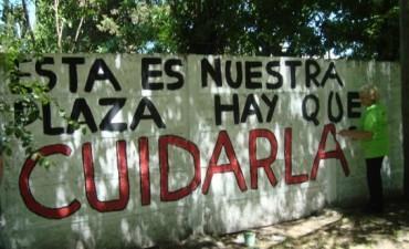 Suspenden mantenimiento de Plazas en Sierra Chica