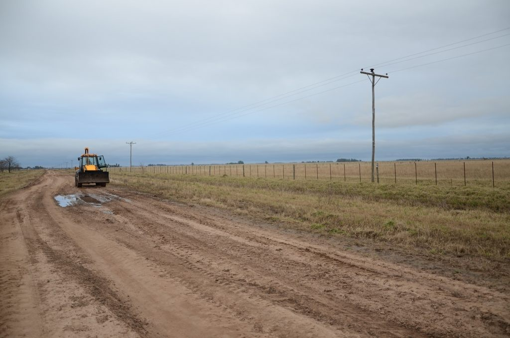 Emergencia vial: mantenimiento en caminos rurales