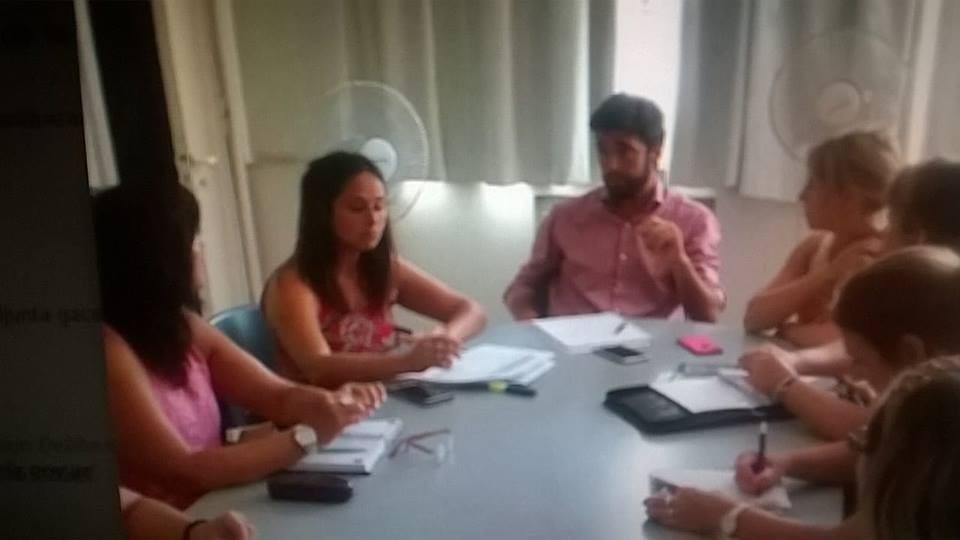 Bruno Cenizo encabezó la primera reunión organizativa del Acto Oficial por el Día de la Mujer