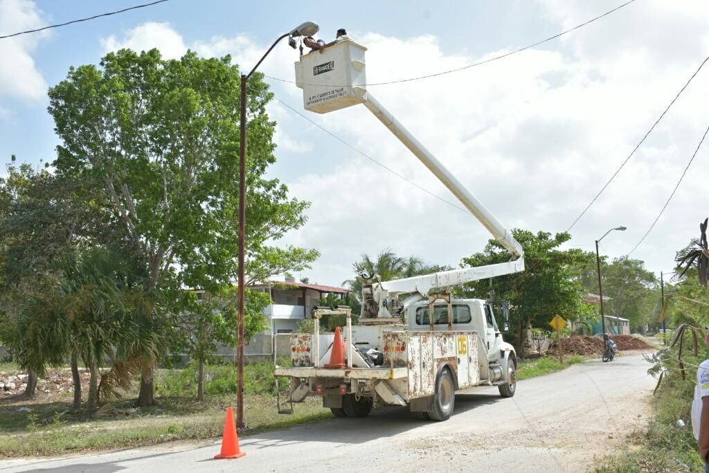Corte de energía elétrica en la zona rural