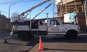 Un sector de la ciudad sin energía eléctrica este jueves