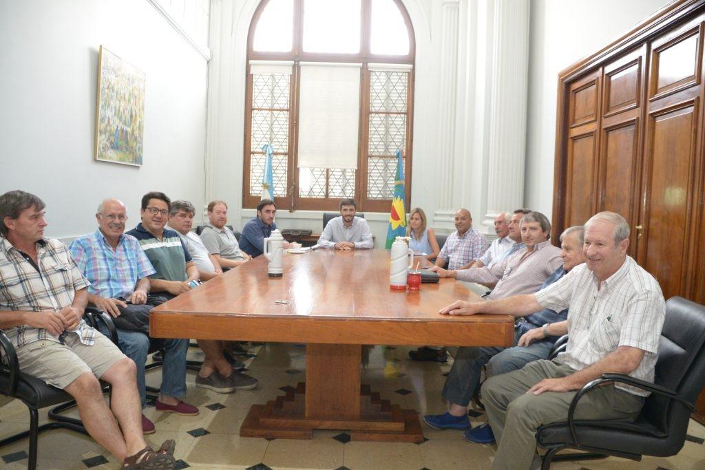 El Intendente se reunió con referentes de la Mesa Agropecuaria
