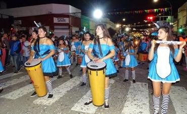 Inician los carnavales en Laprida