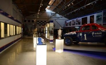 Exposición de motos clásicas en el Museo Hermanos Emiliozzi