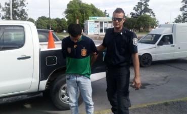 Delincuente preso por 'reiteración delictiva'