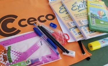 Guardapolvos y útiles para afiliados al CECO