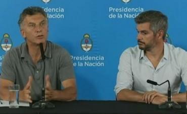 El Presidente Macri en conferencia de prensa