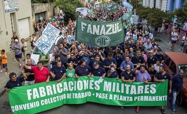 Comité de Solidaridad con FANAZUL en Olavarría