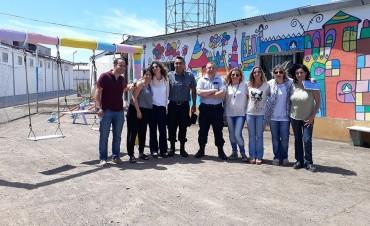 En la Unidad Nº 2 de Sierra Chica se reinauguró la plaza infantil 'Un espacio para todos'
