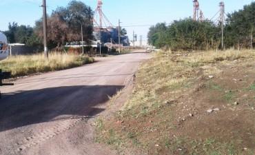 Más del 70% de avance en el mantenimiento de calles en Isaura
