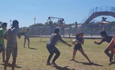 Los jóvenes del Programa Envión compartieron una jornada recreativa