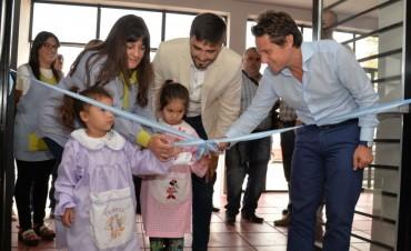 Quedó inaugurado el nuevo edificio del Jardín 919 'Héctor Amoroso'