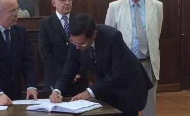 Apartaron al Juez Claudio García del Juzgado de Familia de Olavarría