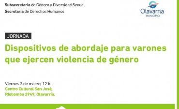 Jornada de abordaje para varones que ejercen violencia de género