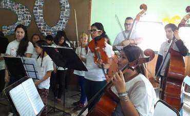 La Escuela Municipal de Música en la Casa del Bicentenario