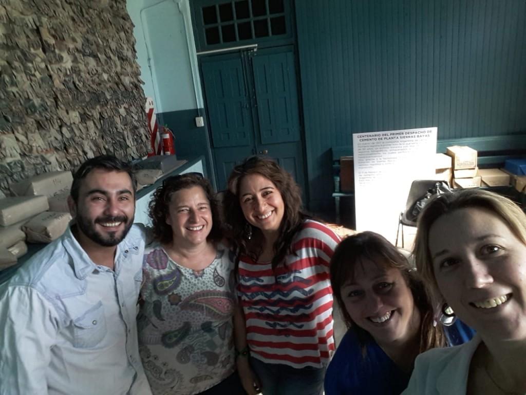 Trabajan en un Plan Integral en el Museo Estación de Sierras Bayas