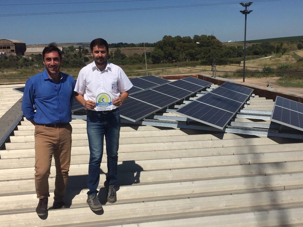 Comercio Sustentable: separación de residuos, luminaria led y paneles solares
