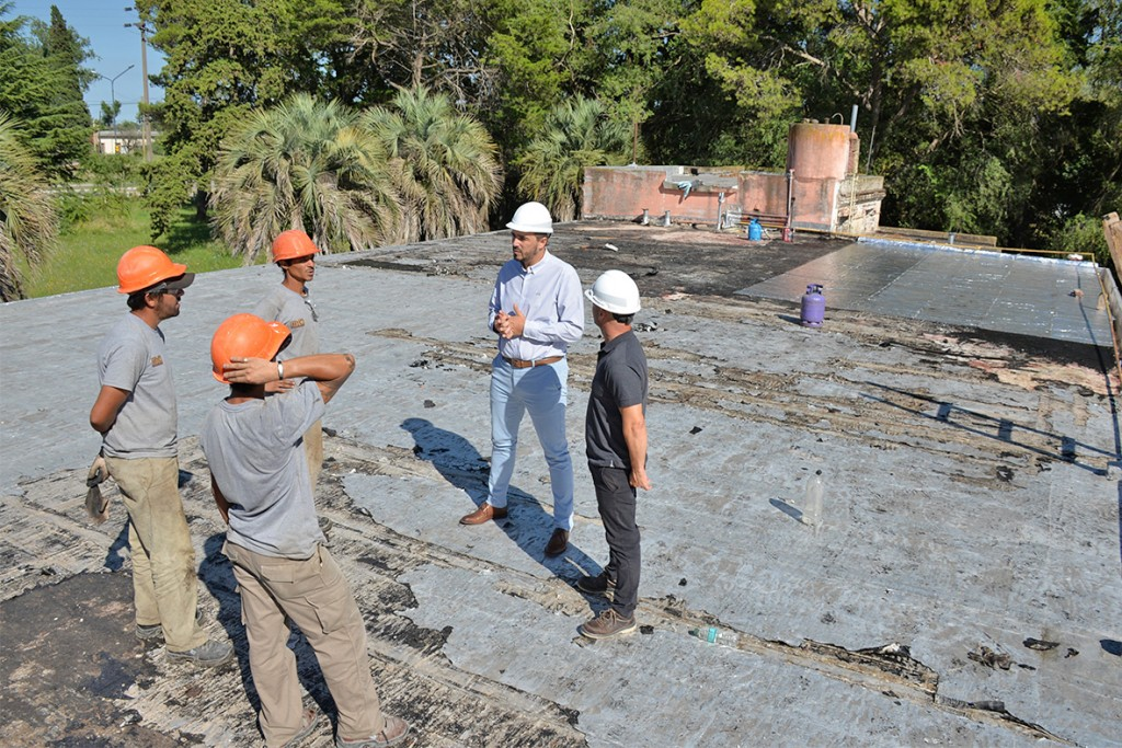 Avanza el inicio de obras en la Escuela Agraria