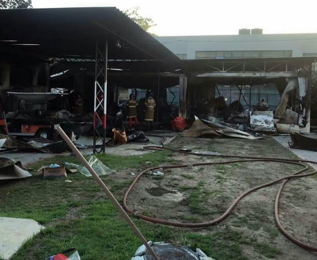 Río de Janeiro: Se incendió el centro deportivo del Flamengo
