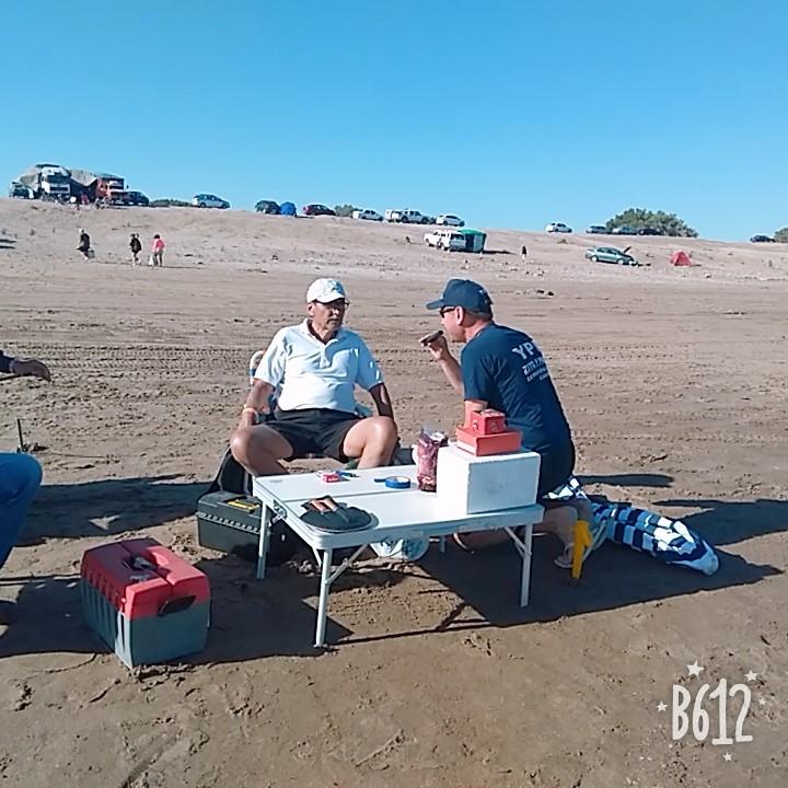 Lu  32 en las 24 horas de la corvina negra en Claromeco, Reta y Orense
