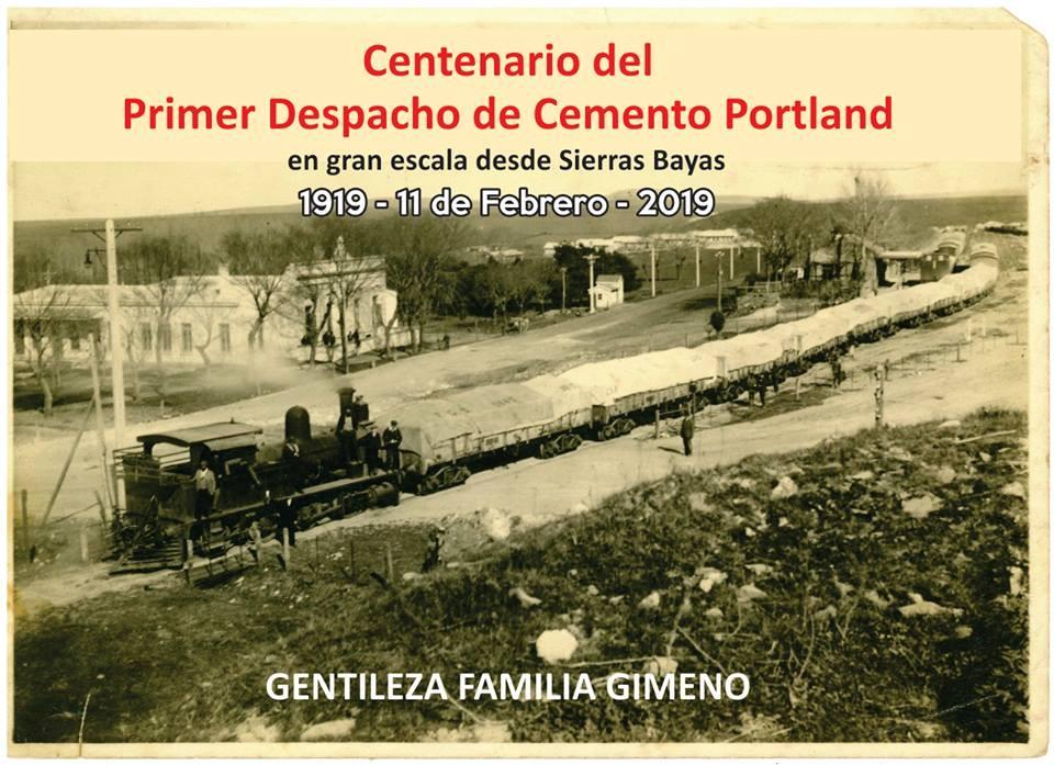 Conmemoran los 100 años del primer despacho de cemento