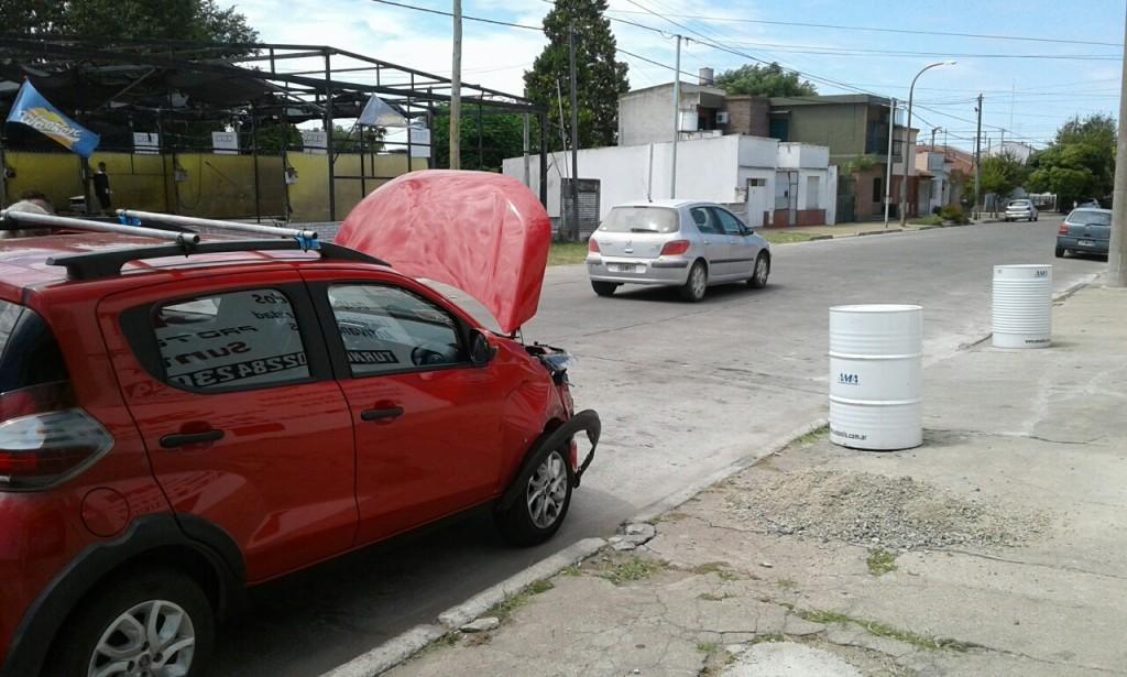 Choque en Ituzaingó y Sgto. Cabral