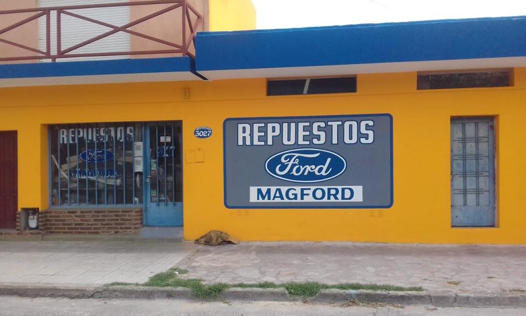 Magford repuestos más de 20 años en el mismo lugar
