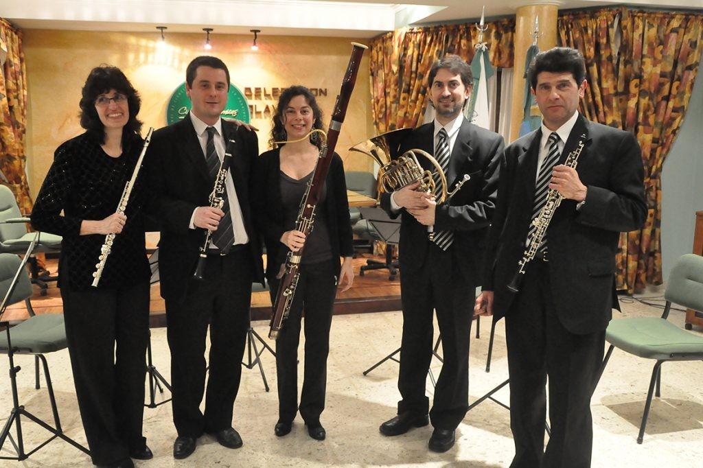 El Quinteto Municipal de Vientos en Blanca Grande