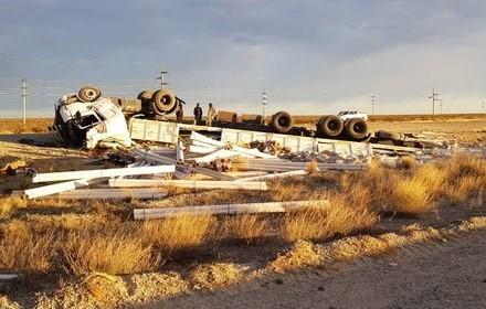Un camionero olavarriense perdió la vida en Trelew