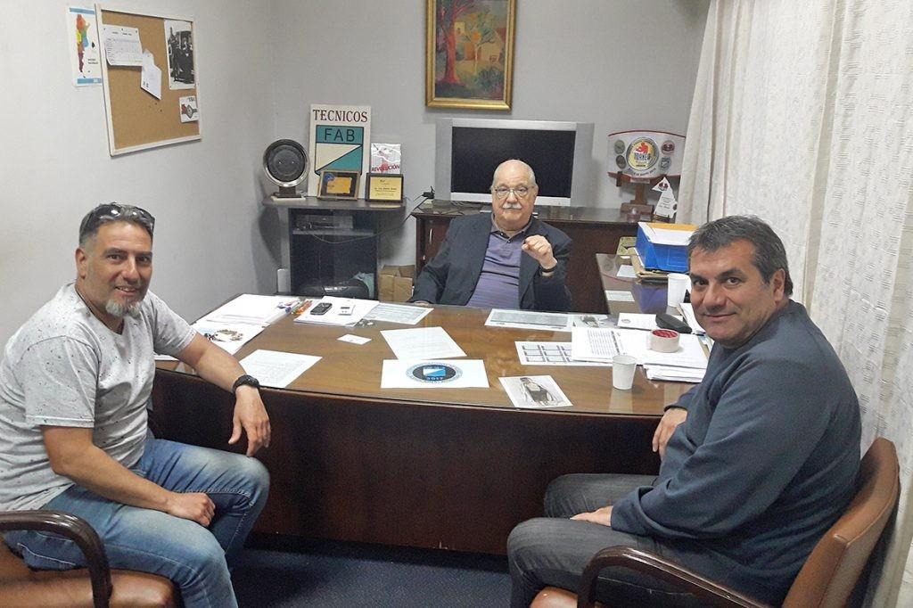 Reunión en la Federación Argentina de Boxeo